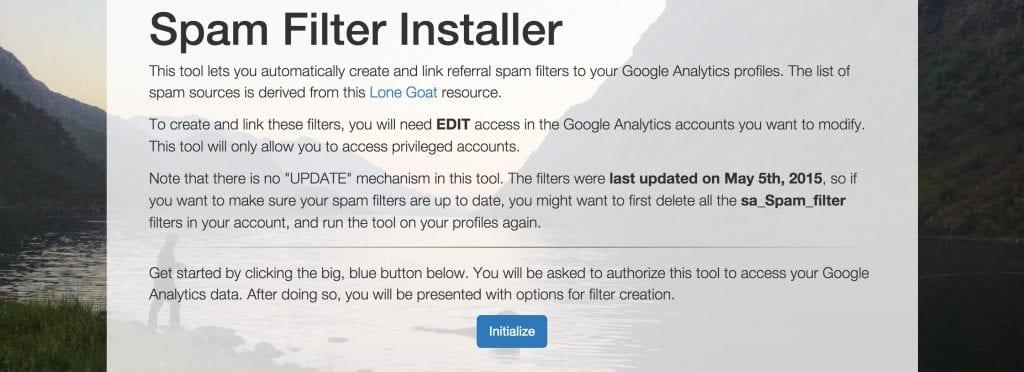 Spamfilter Installer - sPitch